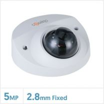 Cognitio 5MP Lite AI IR Network Fixed Lens Wedge Dome Camera (White), COG-5MP-WEDGE-F