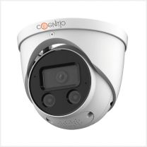 Cognitio 5MP IR Fixed Focal AI Deterrence Network Turret Cameras, COG5C-AI-IP-TUR-F