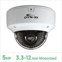 Falcon 5MP IP Network Vandal Dome Camera with Audio (White), FALCMVAN-5-VW