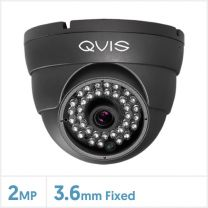 2MP WDR Fixed 4-in-1 Night Fighter Camera (Grey), QS-EYE-FG