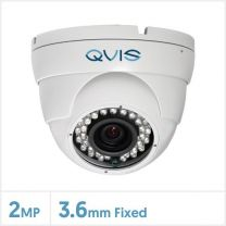 2MP WDR Fixed 4-in-1 Night Fighter Camera (White), QS-EYE-FW