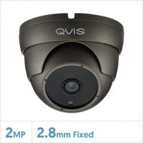 2MP WDR Fixed Lens 4-in-1 Night Fighter Camera (Grey), QS-TUR-FG36