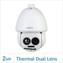 Dahua Thermal Network Hybrid Speed Dome Camera (7.5mm Thermal Lens, 400x300 Vox, Fire Detection & Temperature Measurement), TPC-SD8421P-TB7Z45