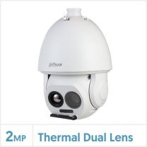 Dahua Thermal Network Hybrid Speed Dome Camera (7.5mm Thermal Lens, 640x512 Vox, Fire Detection & Temperature Measurement), TPC-SD8621P-TB7Z45