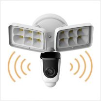 Express One 2MP Security Floodlight Camera- Active Deterrence & PIR, WIFI-FL-CAM-W