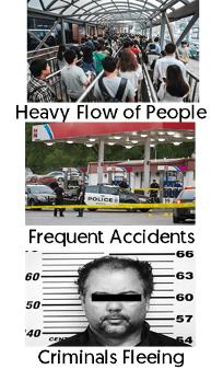 Public Scene Features